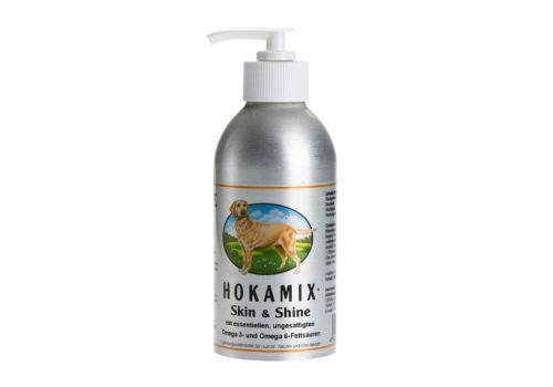 Масло Hokamix Skin Shine витамины для кожи и шерсти для собак и кошек 250мл