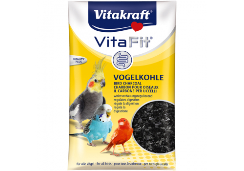 Уголь древесный Vitakraft Vita Fit Vogelkohle для всех видов птиц, 10г
