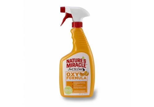 Спрей NM Orange Oxy Formula уничтожитель запахов кошачьих меток и мочи, 709мл