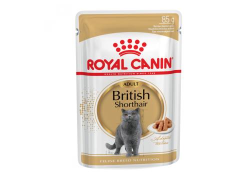Корм влажный Royal Сanin British Shorthair Adult для кошек британской короткошерстной породы 85г