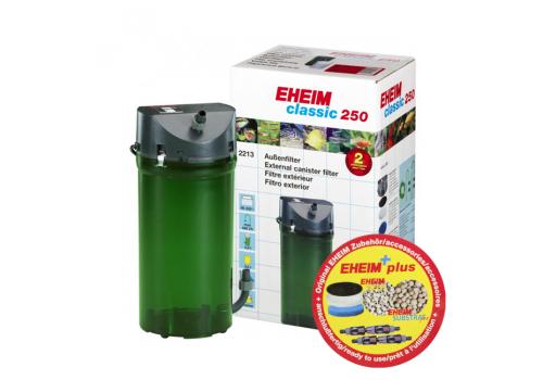 Фильтр внешний Eheim Classic 250 (2213050) с наполнителями
