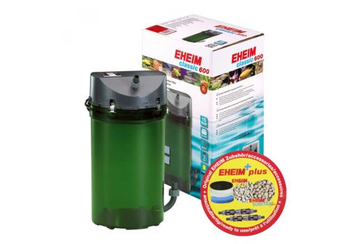 Фильтр внешний Eheim Classic 600 (2217050) с наполнителями