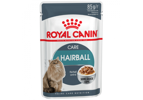 Корм влажный Royal Сanin Hairball Care (в соусе) для кошек с индивидуальной чувствительностью 85г