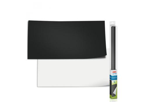 Фон двухсторонний Juwel Poster 3 Черный и Белый L, 100х50см