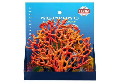 Коралл Fauna Int. красный 19х3.5х17см