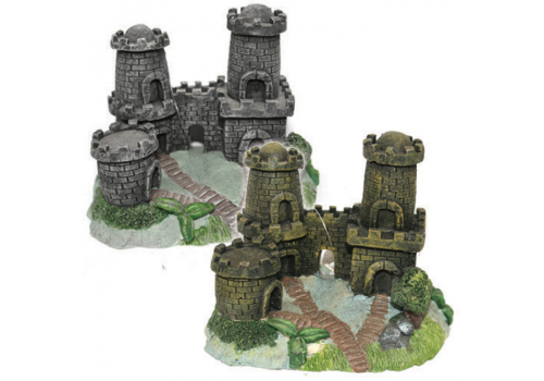 Декорация Prime Замок с двумя башнями PR-CH1008
