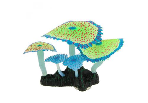 Декорация Флуорисцентная Gloxy Коралл зонтничный зеленый