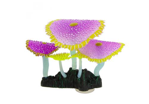 Декорация Флуорисцентная Gloxy Коралл зонтничный фиолетовый