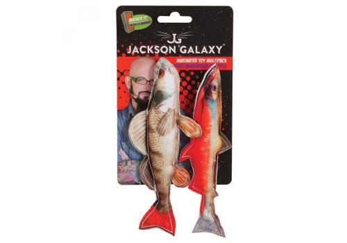 Игрушка для кошек FatCat JG Морская рыбка мягкая 2шт.