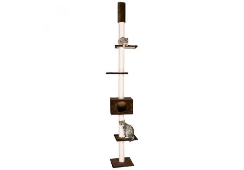 Дом-когтеточка Lilli Pet Skyline, коричневый