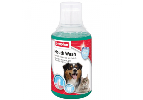 Beaphar Mouth Wash Ополаскиватель полости пасти для кошек и собак 250мл