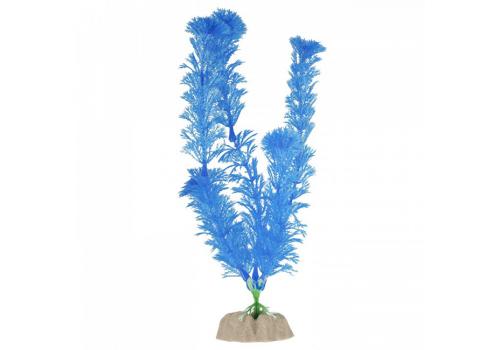 Растение пластиковое Glofish флуоресцентное синее, 20,32см