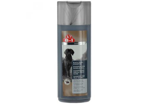 """Шампунь-кондиционер 8in1 Black Pearl """"Черный жемчуг"""" для собак темного окраса, 473мл"""