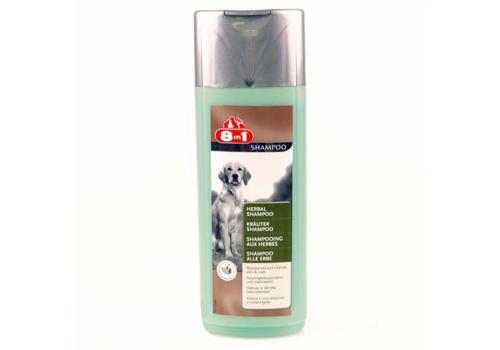 Шампунь 8in1 Herbаl Shampoo травяной для собак, 250мл