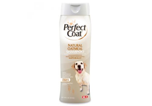 Шампунь 8In1 Natural Oatmeal Shampoo успокаивающий овсяный для собак, 473мл