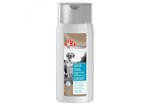 Шампунь 8in1 Sensitive Shampoo для чувствительной кожи и шерсти собак, 250мл