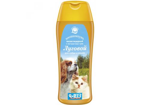 Шампунь Луговой инсектицидный для кошек и собак 270мл