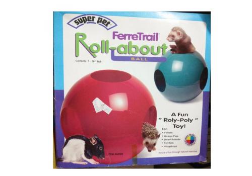 Шар прогулочный для хорьков Super Pet FerreTrail Roll-About Ball 25,4см