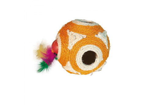 Игрушка для кошек Lilli Pet Sisal ball XXL, 12см
