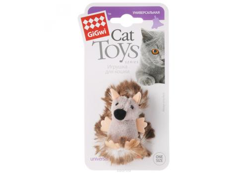 Игрушка для кошек GiGwi Ежик с погремушкой