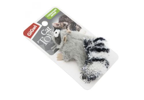 Игрушка для кошек GiGwi Енот с кошачей мятой