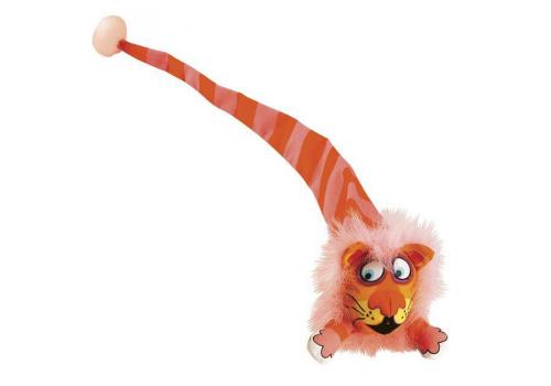 Игрушка для кошек FatCat Забавное животное с длинным хвостом