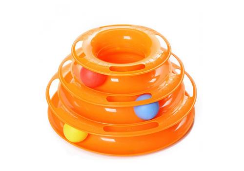 Игрушка для кошек Fauna Int. Карусель с шариками