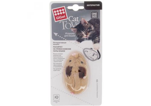 Игрушка для кошек GiGwi Мышь интерактивная