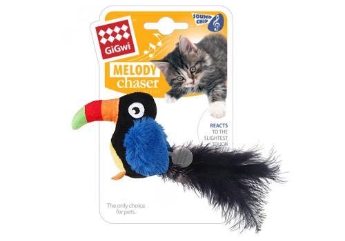 Игрушка для кошек GiGwi Тукан со звуковым чипом