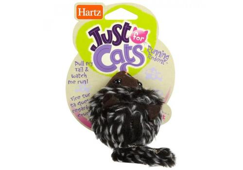 Игрушка для кошек Hartz Убегающая мышка с сыром, 02277