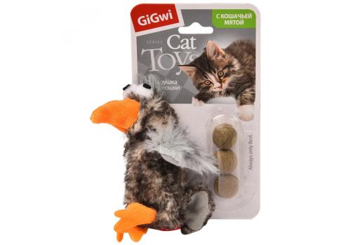 Игрушка для кошек GiGwi Утка с кошачей мятой