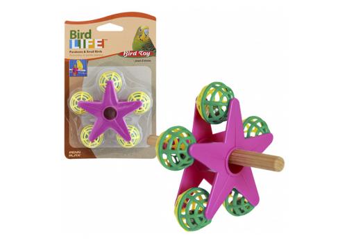 Игрушка для птиц Penn-Plax Звездочка с погремушками