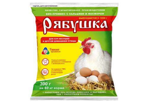 Премикс Рябушка для сельскохозяйственной птицы (0,5%, с кальцием и фосфором), 300г