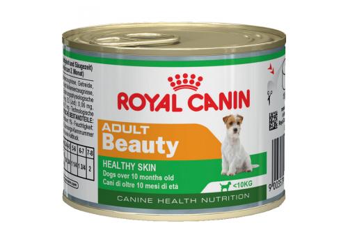 Консервы Royal Canin Adult Beauty для собак для поддержания здоровья шерсти 195г