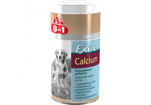 Пищевая добавка 8in1 Excel Кальций для собак, 155таб.