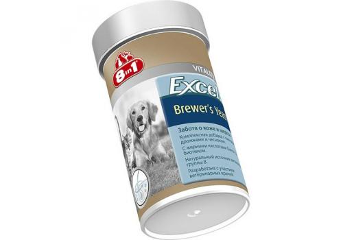 Пищевая добавка 8in1 Excel Пивные дрожжи для кошек и собак, 140таб.