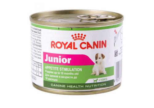 Консервы Royal Canin Junior Mousse мусс для щенков 195г