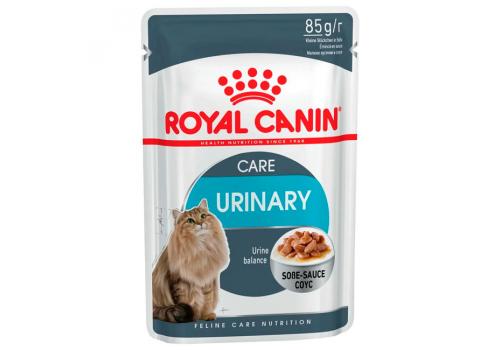 Корм влажный Royal Сanin Urinary Care для взрослых кошек, профилактика мочекаменной болезни, 85г