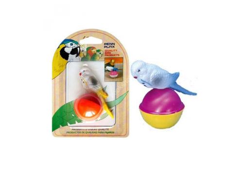 Игрушка для птиц Penn-Plax Птичка на шарике