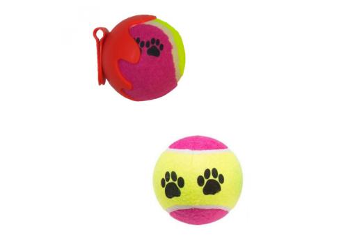 Игрушка для собак TENNIS BALL SET Теннисный мяч набор 2 шт, 6.5см