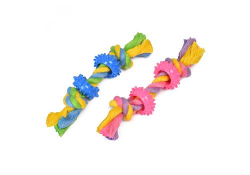 Игрушка для собак Канатик с кольцом, 16см