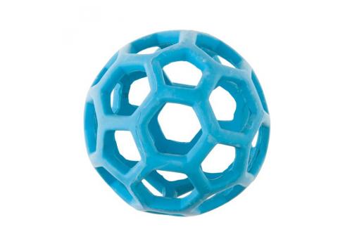 Игрушка для собак JW Мяч сетчатый каучуковый, маленький (12см)