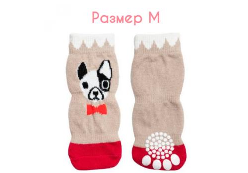 "Носки для собак Triol ""Собачка"", размер M (3*7,5см)"