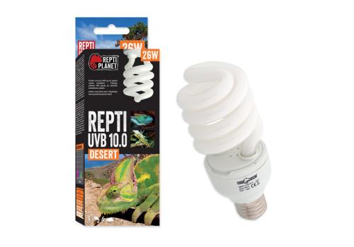 Лампа Repti Planet UVB e27 10.0, 26Вт