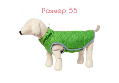 Жилет теплый OSSO Fashion Стежка, салатовый, размер 55