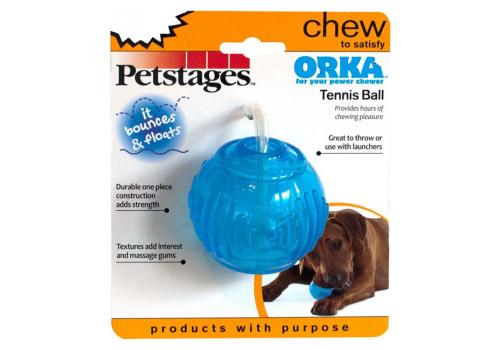 """Игрушка для собак Petstages """"ОРКА Теннисный мяч"""", 7см"""
