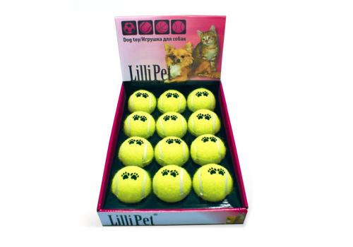 Игрушка для собак Lilli Pet Мяч теннисный, 1шт