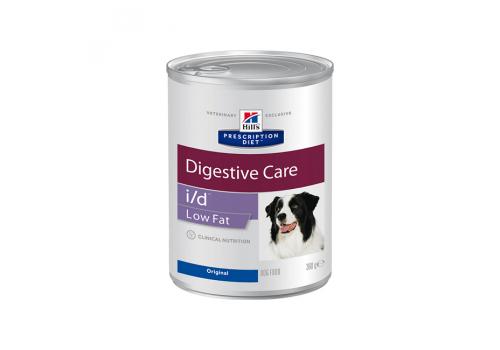 Влажный корм Hill's PD i/d Low Fat Digestive Care для собак, при растройствах пищевания, 360г