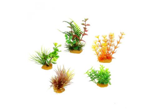 Набор пластиковых растений Prime PR-70601, 5шт