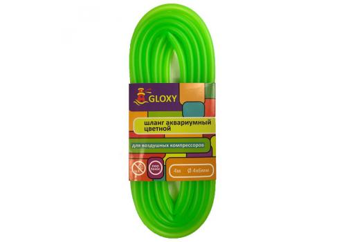 Шланг Gloxy светло зеленый 4/6мм, 4м